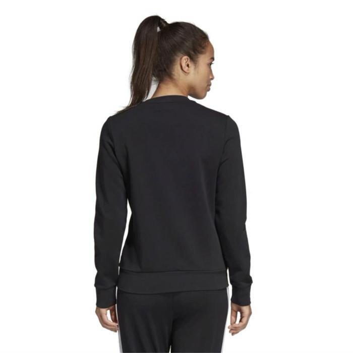 W E Lin Sweat Kadın Siyah Günlük Stil Sweatshirt DP2363 1115171