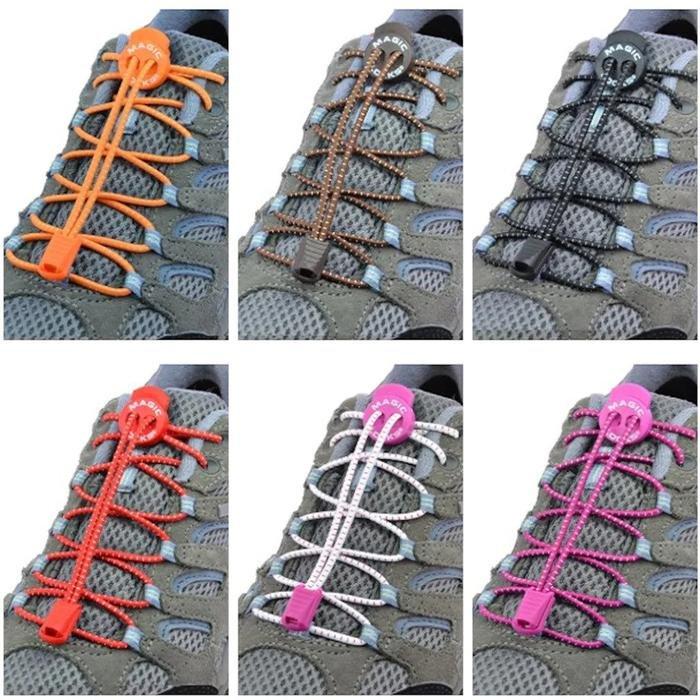 Magic Locks Unisex Sarı Günlük Ayakkabı Bağcığı 15A1 631359