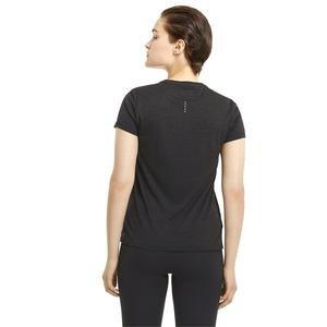 Run Favorite Heather Ss Tee W Kadın Siyah Antrenman Tişört 52018201