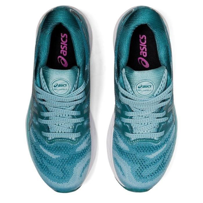 Gel-Nimbus 23 Kadın Mavi Koşu Ayakkabısı 1012A885-400 1276367