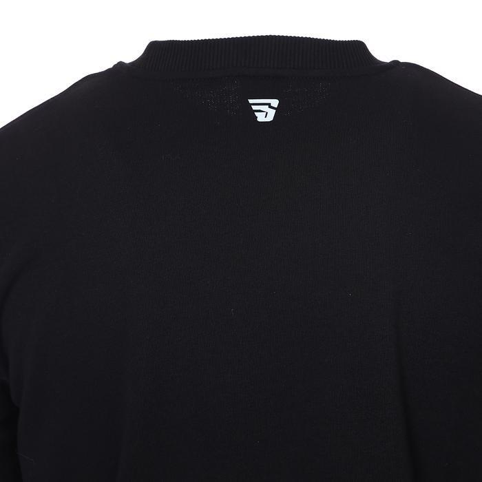 Spo-Oversweat Erkek Siyah Günlük Stil Sweatshirt 711238-SYH-R 1279522