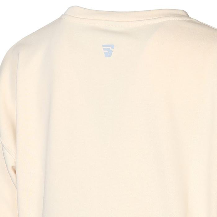 Spo-Overwomsweat Kadın Bej Günlük Stil Sweatshirt 711239-ECR-R 1279528