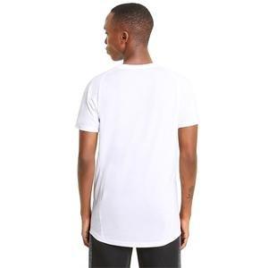 Evostripe Tee Erkek Beyaz Günlük Stil Tişört 58580602