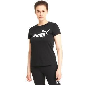 Ess Logo Tee Kadın Siyah Günlük Stil Tişört 58677401