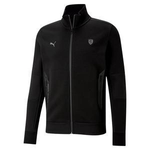 Ferrari Style Sweat Jacket Erkek Siyah Günlük Stil Sweatshirt 59987201
