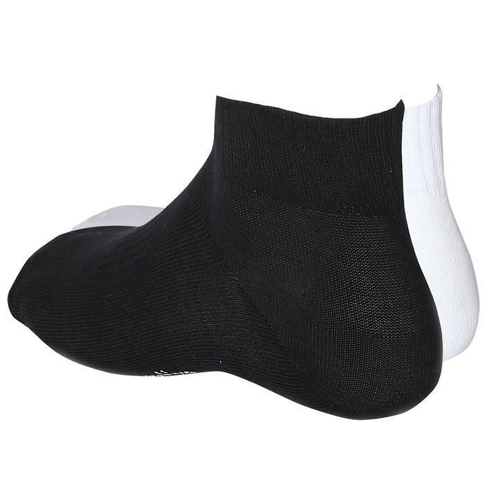 Unisex Siyah-Beyaz Günlük 2li Soket Çorap 2021002-SB 1279483