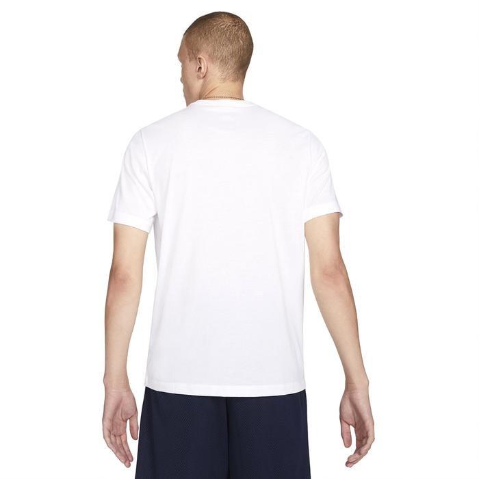 M Nk Dry Oc Photo Ss Tee Erkek Beyaz Basketbol Tişört DB5991-100 1274178