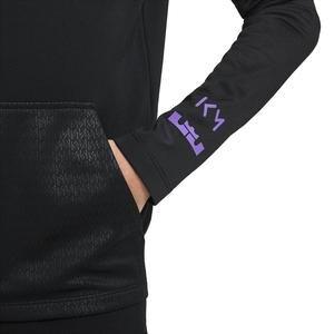 Km Y Nk Dry Hoodie Çocuk Siyah Futbol Sweatshirt CV1501-010