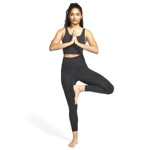 The Yoga Luxe Crop Tank Kadın Siyah Antrenman Atlet CV0576-010