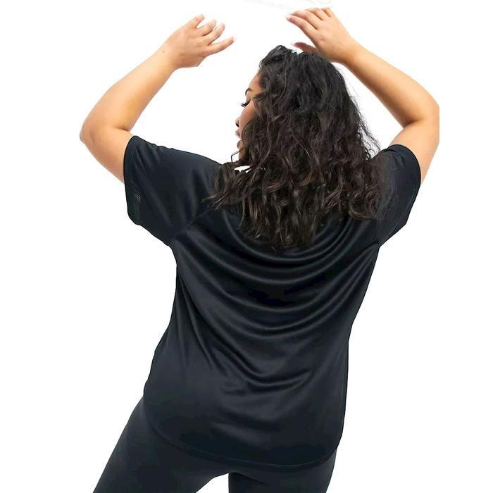 W Nk Icon Clash Run Ss Gx Plus Kadın Siyah Koşu Tişört DC6897-010 1273702