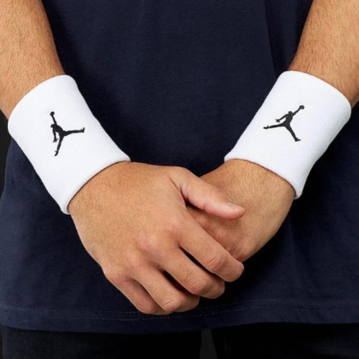 Jordan NBA Jumpman Unisex Beyaz Basketbol Bileklik J.KN.01.101.OS 984618