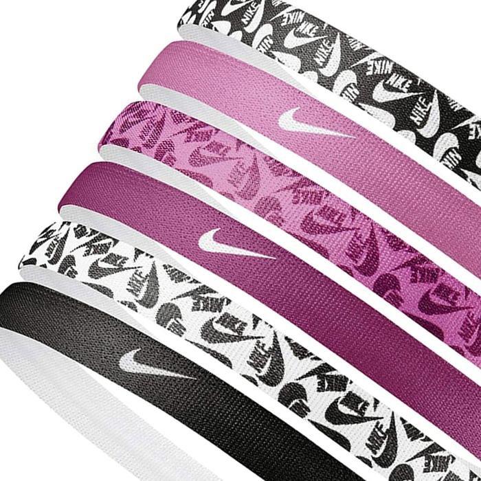 Printed Headbands 6Pk Unisex Siyah Antrenman Saç Bandı N.000.2545.026.OS 1225296