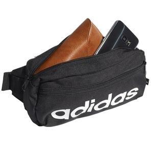 Linear Bum Bag Unisex Siyah Günlük Stil Çanta GN1937