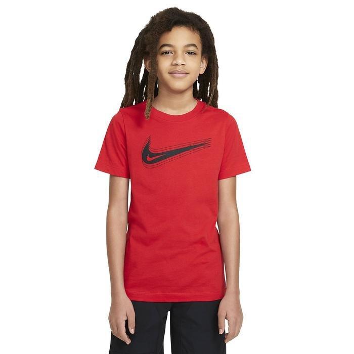 U Nsw Tee Swoosh Çocuk Kırmızı Günlük Stil Tişört DC7797-657 1273719