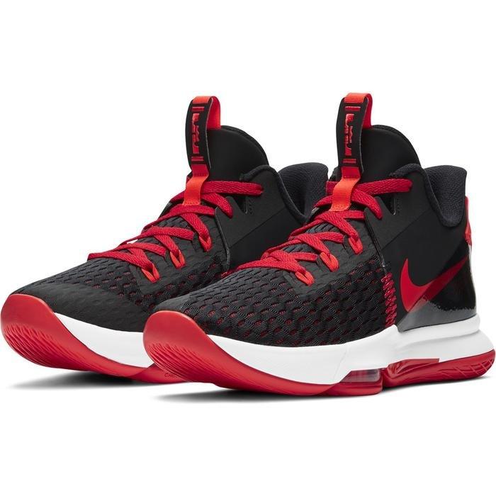 Lebron Witness V Unisex Siyah-Kırmızı Basketbol Ayakkabısı CQ9380-005 1274499