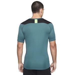 M Nk Dry Acd Top Ss Fp Mx Erkek Yeşil Futbol Tişört CV1475-393