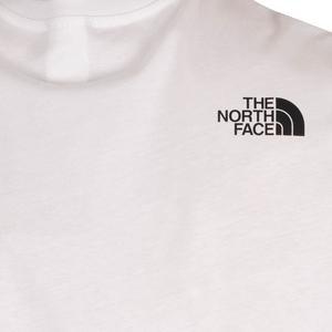 M S/S Half Dome Tee Erkek Beyaz Outdoor Tişört NF0A4M8NFN41