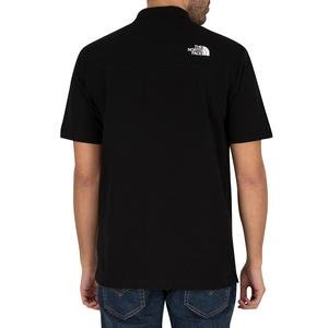 M Calpine Polo Erkek Siyah Outdoor Tişört NF0A4M8KJK31