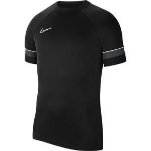 M Nk Df Acd21 Top Ss Erkek Siyah Futbol Tişört CW6101-014
