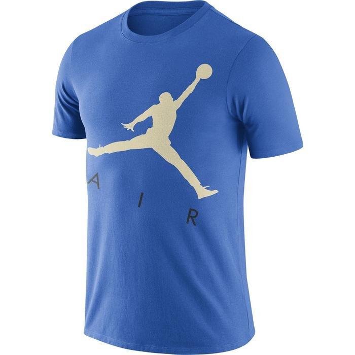 Air Jordan NBA Jumpman Air Hbr Ss Crew Erkek Mavi Basketbol Tişört CV3425-403 1274628