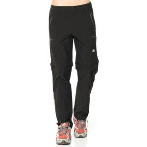 M Exploration Convertible Pant Erkek Siyah Outdoor Pantolon NF00CL9QJK31
