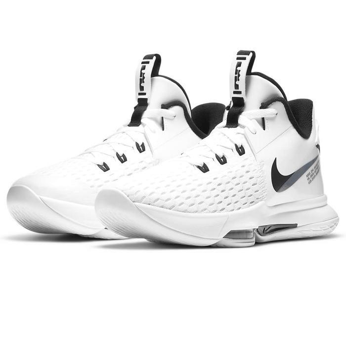 Lebron Witness V NBA Unisex Beyaz Basketbol Ayakkabısı CQ9380-101 1273361