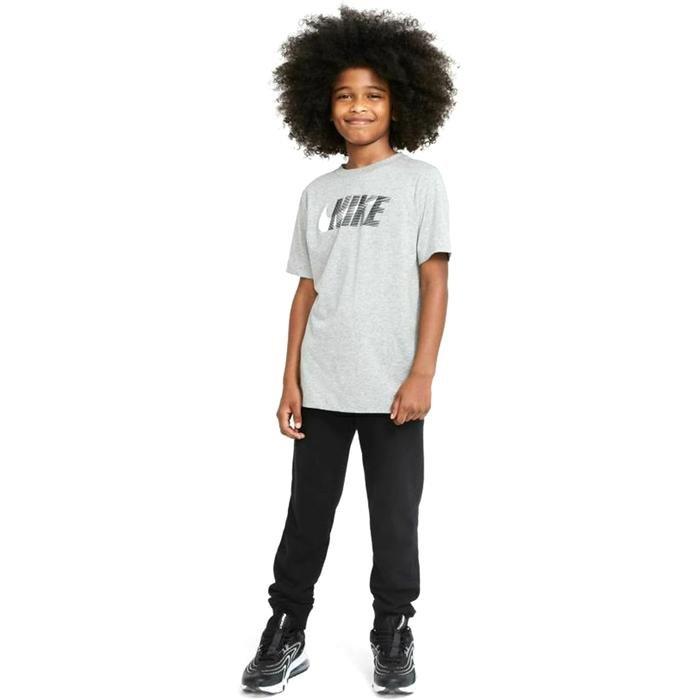U Nsw Tee Swoosh Çocuk Siyah Günlük Stil Tişört DC7796-063 1274764
