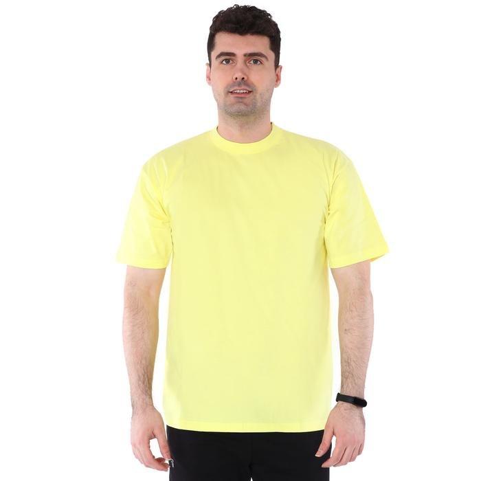 Basic Erkek Sarı Günlük Stil Tişört 060020021SR5 104463