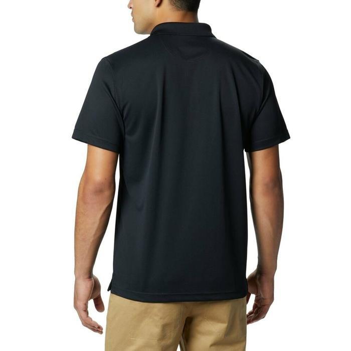 Utilizer Erkek Siyah Günlük Polo Tişört AO0126-010 1189315
