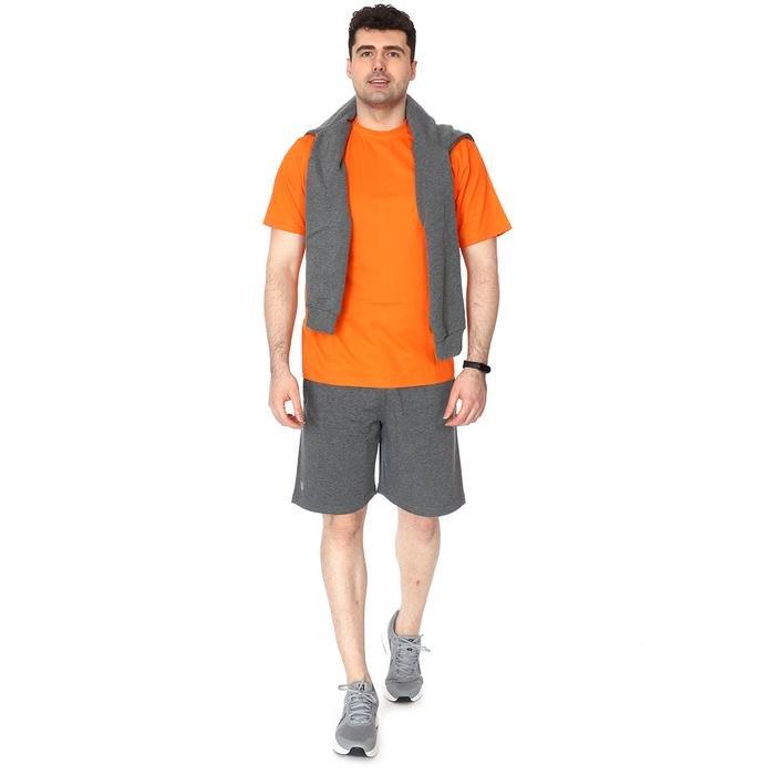 Basic Erkek Turuncu Günlük Stil Tişört 060020021TR5 102996
