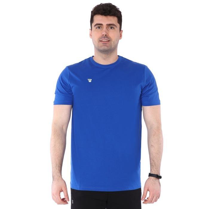 Spt Basic Tişört Erkek Mavi Basketbol Tişört TKU100109-MAV 1227639