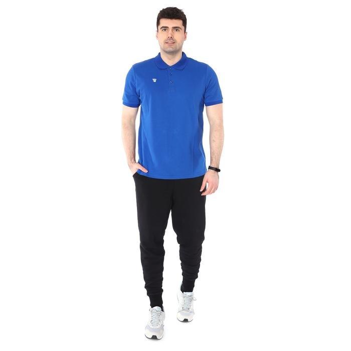 Polo Pike Erkek Mavi Basketbol Tişörtü TKU100107-SAX 1227599