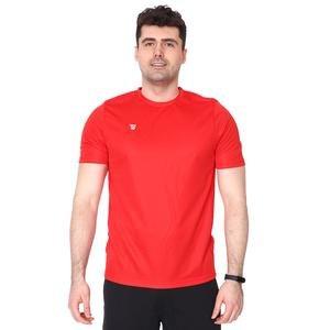 Poly Basic Erkek Kırmızı Futbol Tişört TKY100133-KRM