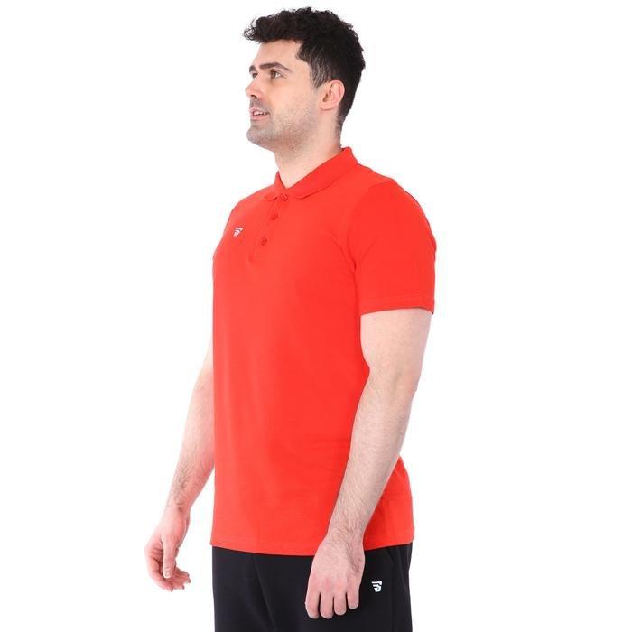 Polo Yaka Erkek Kırmızı Günlük Stil Tişört TKY100106-KRM 1235286