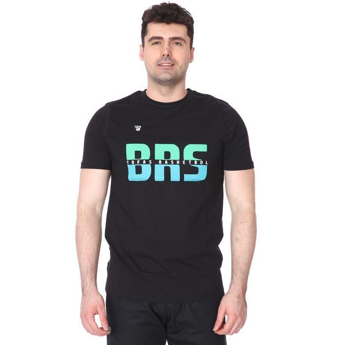 Tofaş Erkek Siyah Basketbol Tişört TKT100104-SYH-TOF 1270596