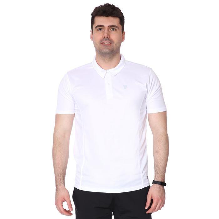 Spo-Lucky Erkek Beyaz Günlük Stil Polo Tişört 710302-00W-SP 1278906