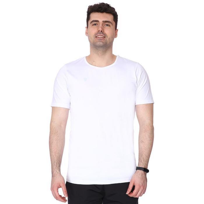 Spo-Basic Erkek Beyaz Günlük Stil Tişört 710200-00W-S 1278936
