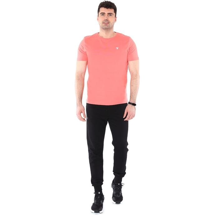 Spo-Basic Erkek Pembe Günlük Stil Tişört 710200-0MR-SP 1279068