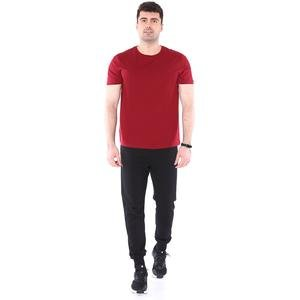 Spt Basic Erkek Bordo Günlük Stil Tişört 710200-0BR-SP