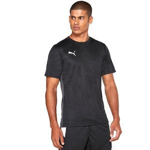 Ftblplay Shirt-Asphalt Erkek Siyah Futbol Tişört 65681006