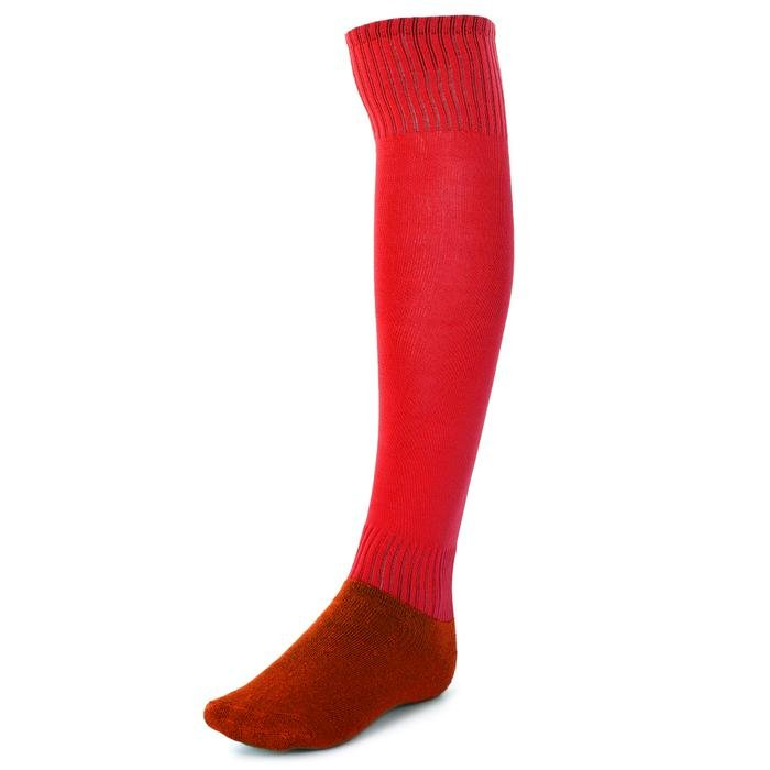 Uzun Konçlu Erkek Kırmızı Futbol Çorabı 63017KR04 126040