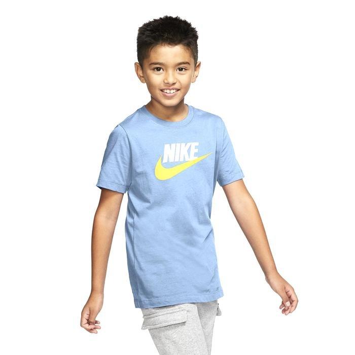 B Nsw Tee Futura Icon Td Çocuk Mavi Günlük Stil Tişört AR5252-436 1285595