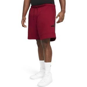 M J Jumpman Air Flc Short Erkek Kırmızı Basketbol Şort CK6707-687