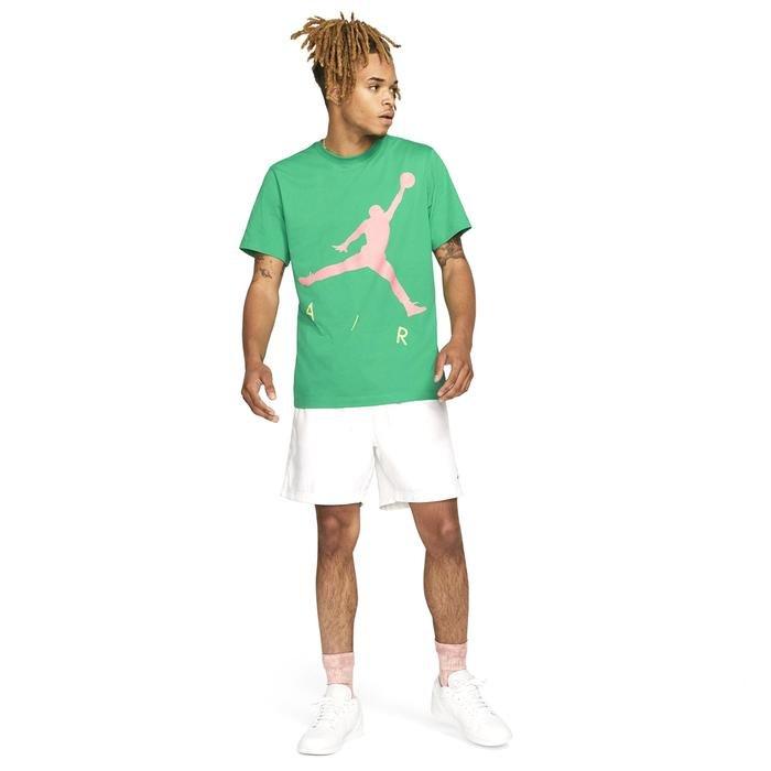 M J Jumpman Air Hbr Ss Crew Erkek Yeşil Basketbol Tişört CV3425-372 1286008