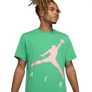 M J Jumpman Air Hbr Ss Crew Erkek Yeşil Basketbol Tişört CV3425-372