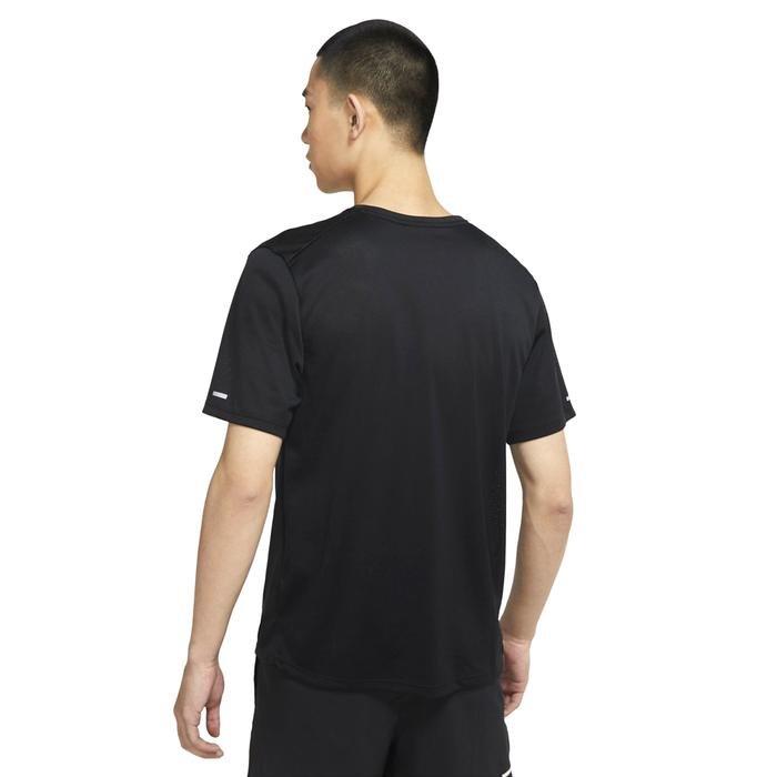 M Nk Df Miler Top Ss Wr Gx Erkek Siyah Koşu Tişört DA1181-010 1286241