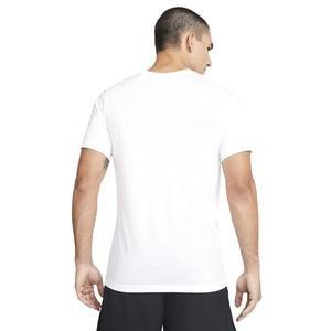 Pro Erkek Beyaz Antrenman Tişört DA1587-100