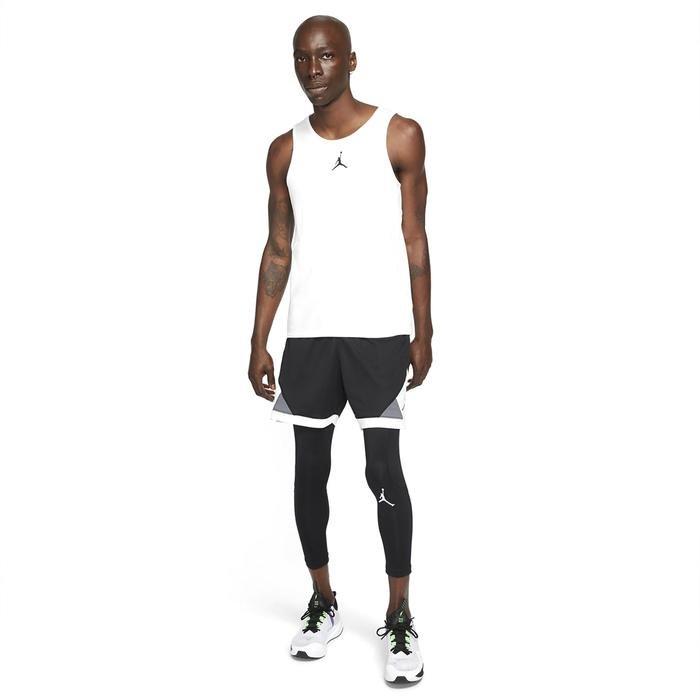 M J Df Air 3/4 Tight Erkek Siyah Basketbol Tayt CZ4796-010 1285411