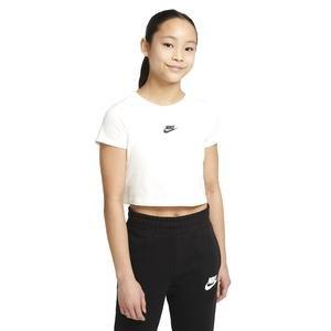G Nsw Repeat Crop Tee Çocuk Beyaz Günlük Stil Tişört DJ4017-100
