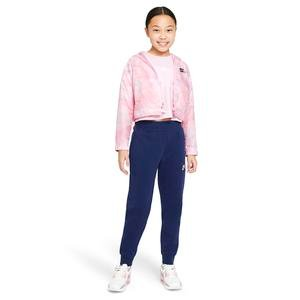 G Nsw Repeat Crop Tee Çocuk Kırmızı Günlük Stil Tişört DJ4017-663